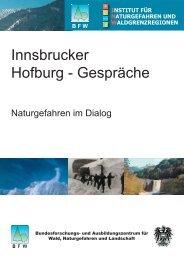 Innsbrucker Hofburg - Gespräche - BFW