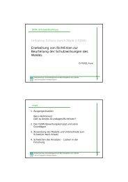 Initiative Schutz durch Wald (ISDW) Erarbeitung von ... - BFW