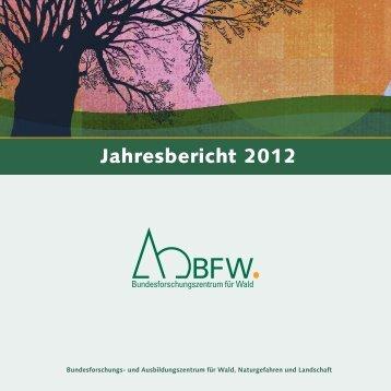 Jahresbericht 2012 - BFW