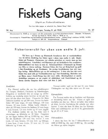Fiskets Gang. Nr 27. 1948
