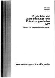Ergebnisbericht über Forschungs-und ... - Bibliothek