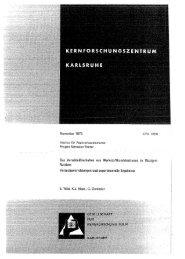 Das Verschleißverhalten von Werkstoffkombinationen in ... - Bibliothek