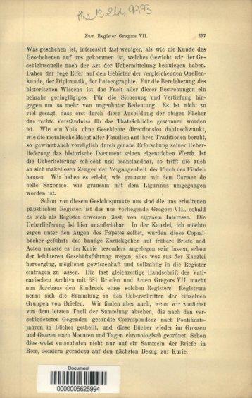 Zum Register Gregors VII