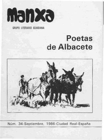 Poetas de Albacete - Universidad de Castilla-La Mancha