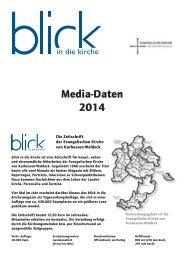 Media-Daten 2014 - Evangelische Kirche von Kurhessen-Waldeck