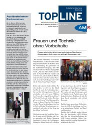 topline - Arbeitsmarktservice Österreich