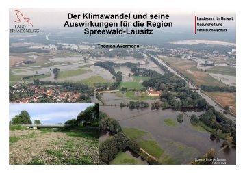 Der Klimawandel und seine Auswirkungen für die Region Lausitz ...