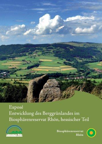 Expose BerggrünlandDruckversion 21.11.13 - Biosphärenreservat ...