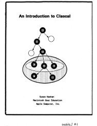 An Introduction to Clascal - Trailing-Edge