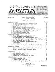 digital computer newsletter - Trailing-Edge