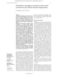 Optokinetic nystagmus in patients with central scotomas in age ...