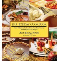2013 Holiday Cookbook - TownNews.com