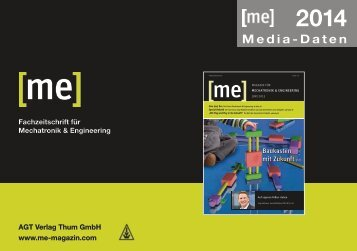 Mediadaten 2014 - AGT Verlag Thum GmbH
