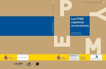 Las PYME españolas no societarias. Situación económica (2000 ...