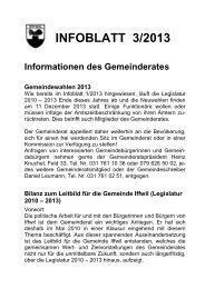 INFOBLATT 3/2013 - Iffwil