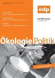 ÖDP-Magazin kostenlos als PDF online lesen