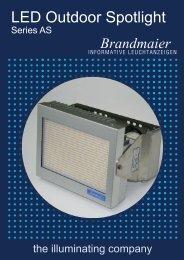 LED Outdoor Spotlight - Brandmaier · Informative Leuchtanzeigen