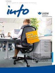 INFO Ausgabe Jul - Unfallkasse Baden-Württemberg
