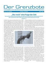 09/2013 - Die Evangelisch-altreformierte Kirche in Niedersachsen