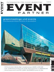 greenmeetings und events - GCB