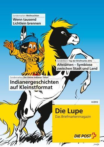 Die Lupe - Das Briefmarkenmagazin - Die Post