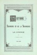 Histoire des seigneurs et de la seigneurie de La Grange - Page 5