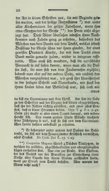 Versuch einer Geschichte der Hexenprozesse. 1. Bd