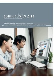 connectivity 2.13 - Huber+Suhner