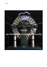 Fachcurriculum Physik MGS.pdf - Märkisches Gymnasium Schwelm