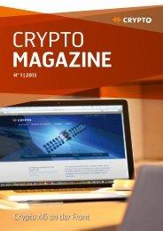 CryptoMagazine 1/2013 - Crypto AG