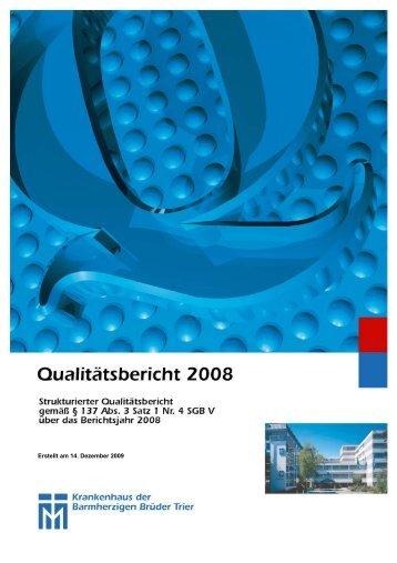 A Struktur- und Leistungsdaten des ... - Brüderkrankenhaus Trier