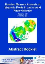 Program - Istituto di Radioastronomia - Inaf