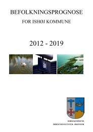 Befolkningsprognose 2012 - Ishøj Kommune