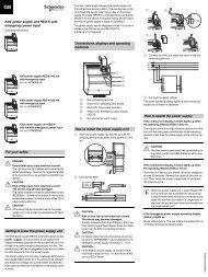 KNX power supply unit REG-K with emergency power ... - IQmarket