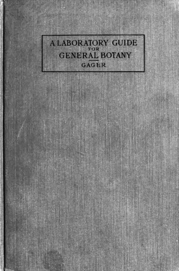 A laboratory guide for general botany