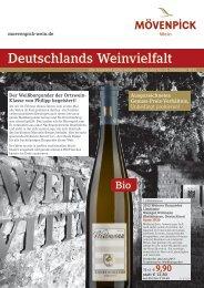 Deutschlands Weinvielfalt - Mövenpick Wein