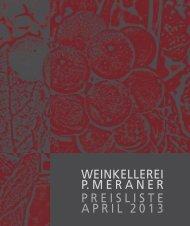 Preisliste Wein Teil 1 - Hafele