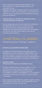 Château Classic Folder - Schloss Halbturn - Seite 2