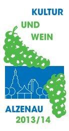 Kultur und Weinkalender 2013 / 2014 anzeigen (218 ... - Stadt Alzenau