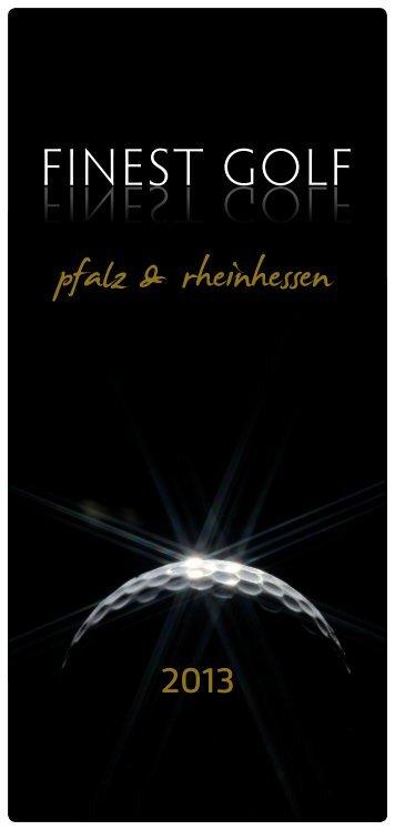 Finest Golf 2013 (PDF) - bei Luther Hotel & Restaurant