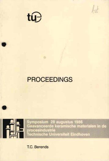 PROCEEDINGS - Technische Universiteit Eindhoven