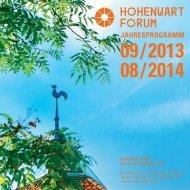 Persönlichkeit, Kompetenz / Gesundheit und ... - Hohenwart Forum