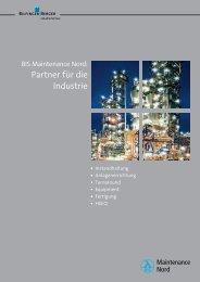 Partner für die Industrie - Bilfinger Berger Industrial Services