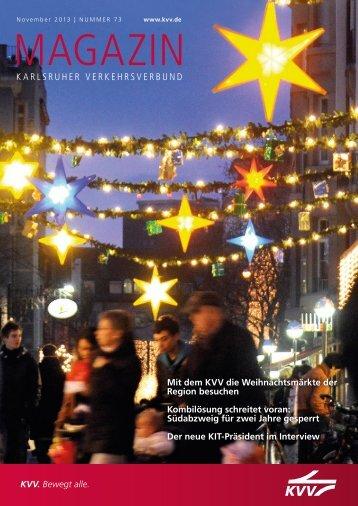 Download KVV-Magazin - KVV - Karlsruher Verkehrsverbund