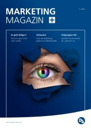 MARKETING MAgAzin - DS MARKETING