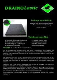 Flyer DRAINOLastic (deutsch) - Norbert Ackmann GmbH
