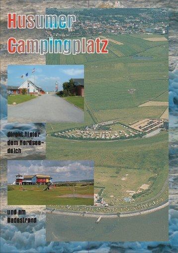 Campingprospekt - Husumer Campingplatz am Dockkoog