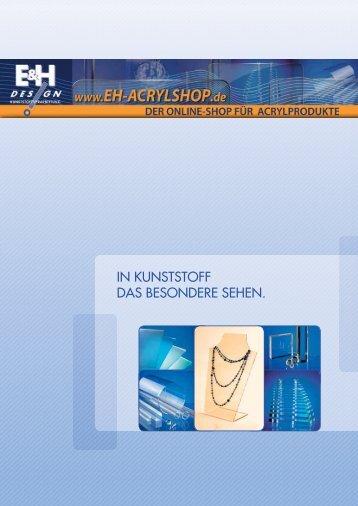 E&H Design - Acrylkatalog - Branchenbuch meinestadt.de