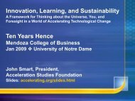Slides - Mendoza College of Business - University of Notre Dame