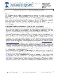 Informations générales - Itg